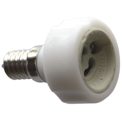 GU10 adapter z gniazda lampy e14 na gu10,0