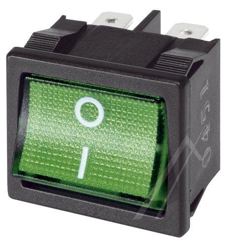 362825022 włącznik sieciowy 2 pola, podśw.zielone INTERBÄR,0