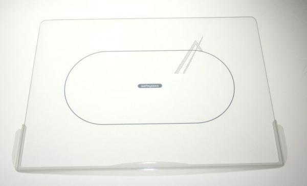 Szyba   Półka szklana kompletna do lodówki 481245088222,0