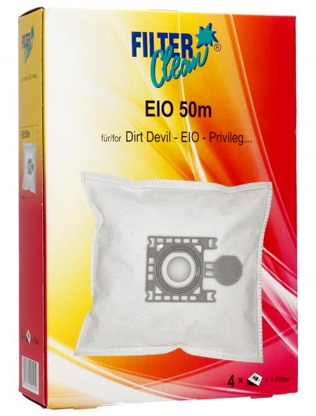 Worek EIO50M 3 filtry do odkurzacza 4szt.,0