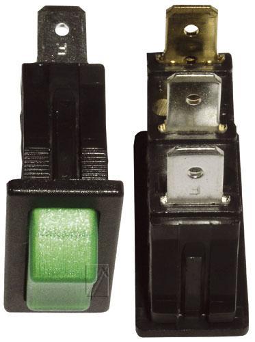 365285022 włącznik sieciowy 1-pol podświetlany 16a/250v 11x30 INTERBÄR,0