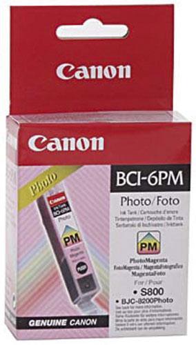4710A002 BCI6PM TINTENPATRONE, PHOTOMAGENTA, 13ML CANON,0