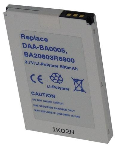 Akumulator   Bateria AUDIOA37008 do palmtopa ,0