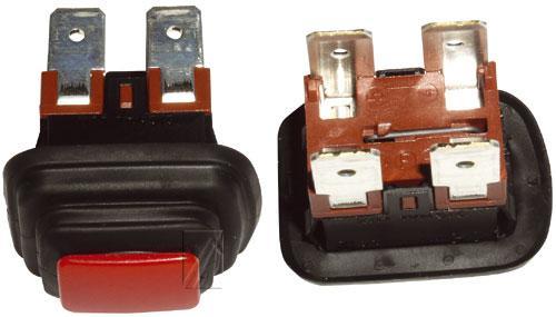 365230022 włącznik sieciowy 2-pol bezpodświetlania 16a/250v 22x30 INTERBR,0