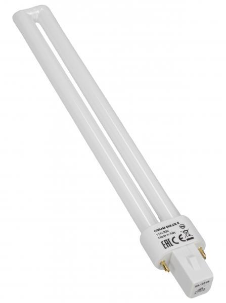 Żarówka | Świetlówka energooszczędna G23 11W Osram dulux s (biały ciepły),0