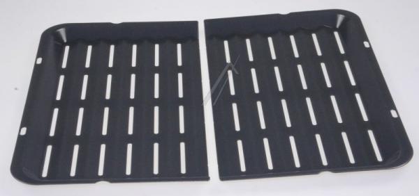 Ruszt | Blacha do grillowania HZ325070 / HEZ325070 (dwuczęściowa) do kuchenki 00437194,0