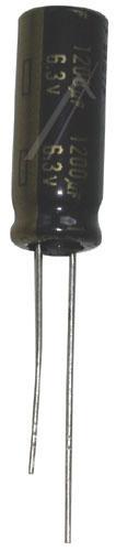 1200uF   6.3V Kondensator elektrolityczny 105°C 20mm/10mm,0