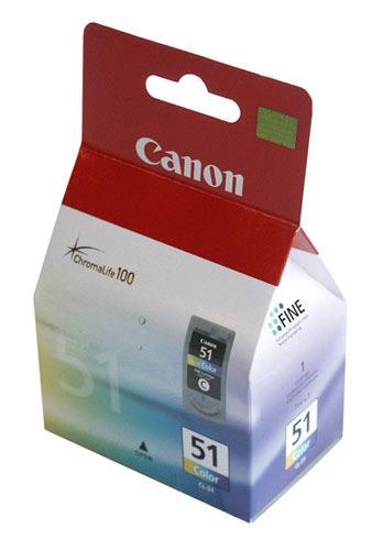 Tusz kolorowy CL51 do drukarki  0618B001,0