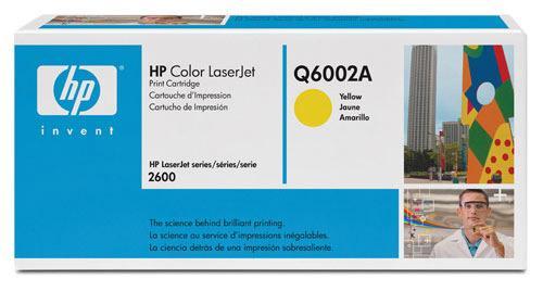 Q6002A 124A TONER, GELB, 2K HEWLETT-PACKARD,0