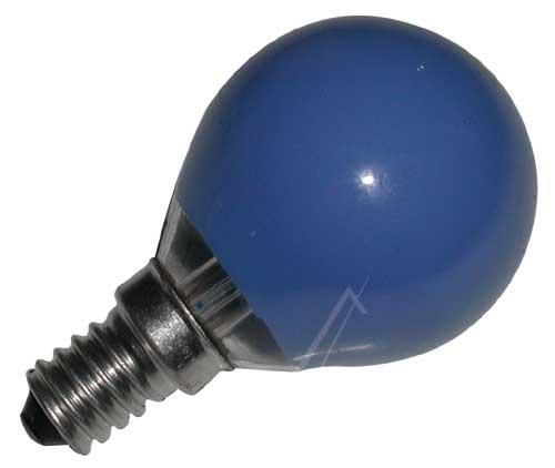 25W 230V Żarówka kulista (45mm/75mm) E14 niebieska,0