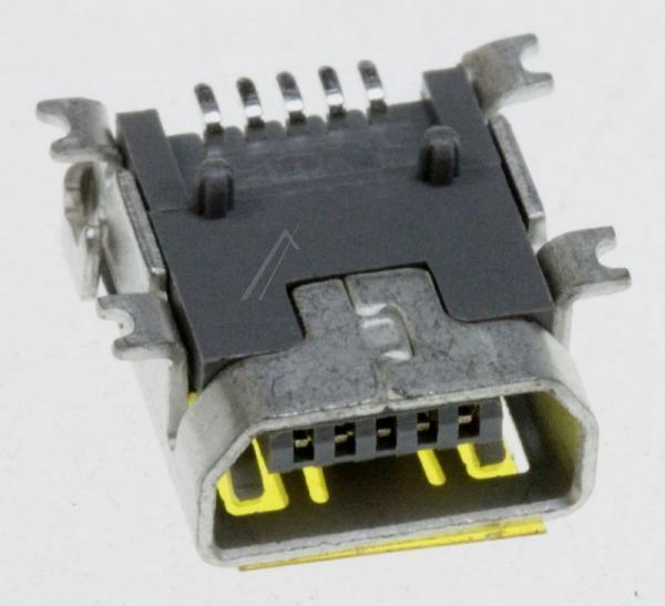 3722002236 JACK-MINI USB5P,AU30U,BLK,SMD-A,MINI US SAMSUNG,0