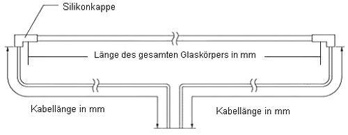 Lampa pod LCD   Świetlówka pod LCD 455mm x 3mm CCFL30455IW bez kabla,0