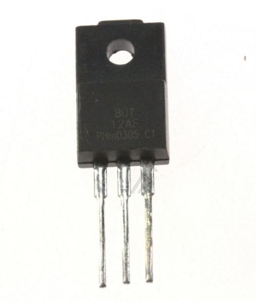 BUT12F Tranzystor SOT186 (NPN) 850V 6A,0