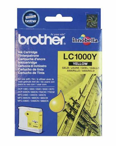 Tusz żółty do drukarki  LC1000Y,0