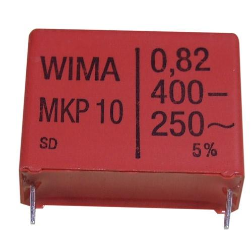 0.82uF | +-5% | 400V Kondensator impulsowy MKP10 WIMA,0