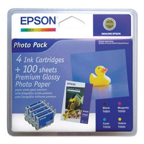 Multipack | Zestaw tuszy BK,C,M,Y do drukarki  C13T05564010,0