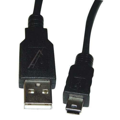 Kabel 3m USB A - USB B mini (wtyk/ wtyk),0