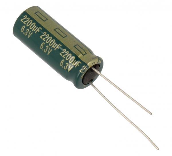 2200uF | 6.3V Kondensator elektrolityczny 105°C 25mm/10mm,0