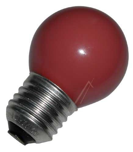 25W 230V Żarówka kulista (69mm/ E27 czerwona,0