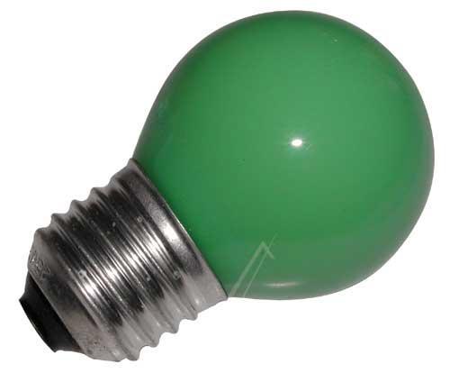 25W 230V Żarówka kulista (69mm/45mm) E27 zielona,0