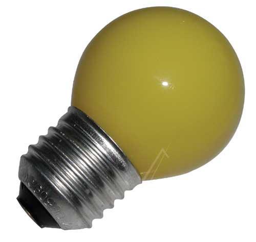 25W 230V Żarówka kulista (69mm/45mm) E27 żółta,0