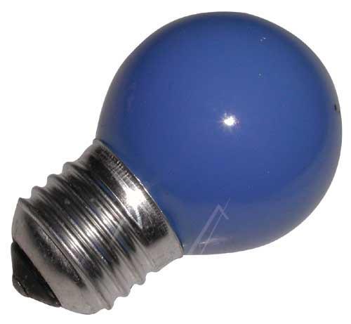 25W 230V Żarówka kulista (69mm/45mm) E27 niebieska,0