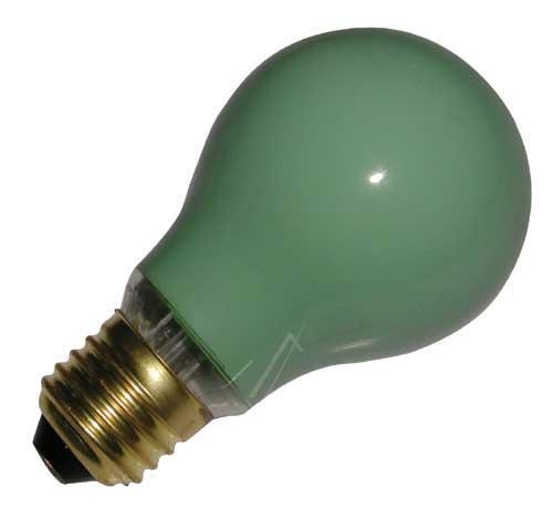 25W 230V Żarówka kulista (105mm/60mm) E27 zielona,0