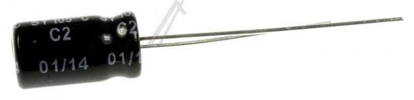 100uF | 16V Kondensator elektrolityczny 105°C 11mm/6mm,2