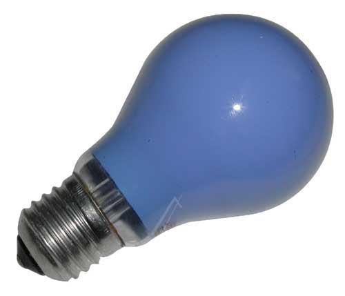 25W 230V Żarówka kulista (105mm/60mm) E27 niebieska,0
