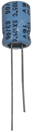 150uF | 16V Kondensator elektrolityczny 105°C 11mm/6mm,0