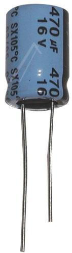 470uF | 16V Kondensator elektrolityczny 105°C 15mm/10mm,0