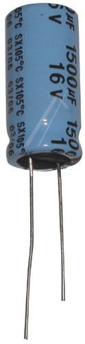1500uF | 16V Kondensator elektrolityczny 105°C 30mm/10mm,0