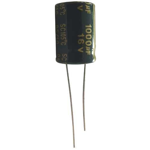 1000uF | 16V Kondensator elektrolityczny 105°C 19mm/10mm,0