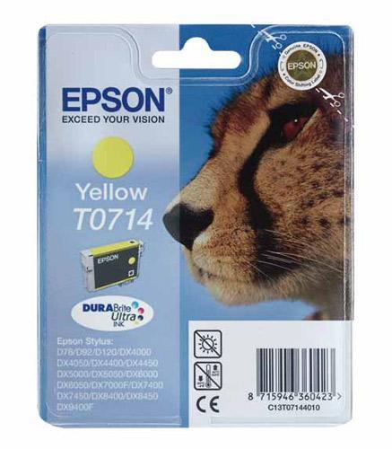 Tusz żółty do drukarki  C13T07144011,0