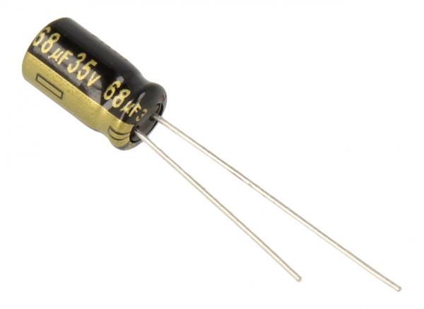 68uF | 35V Kondensator elektrolityczny 105C EEUFM1V680 11mm/8mm,0