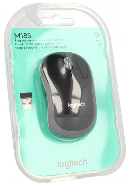 Mysz M185 bezprzewodowa Logitech 910002238,0