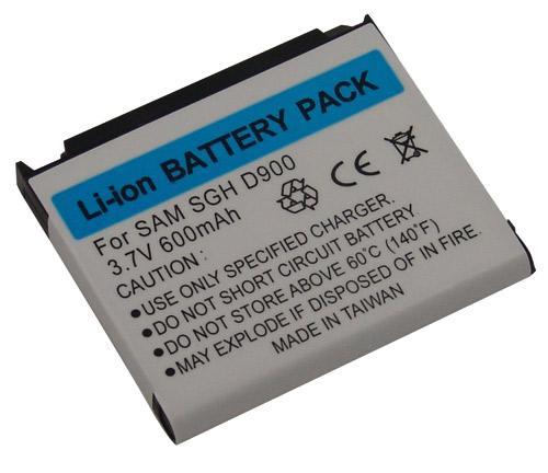 Akumulator | Bateria Li-Ion GSMA37082 3.7V 600mAh SGH-D900 SGH-E780 do smartfona,0