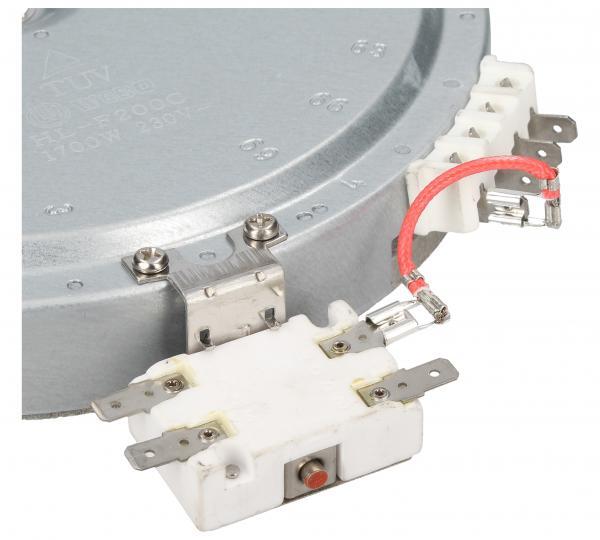 Pole grzejne średnie 1700W 180mm do płyty grzewczej Beko 162926002,2