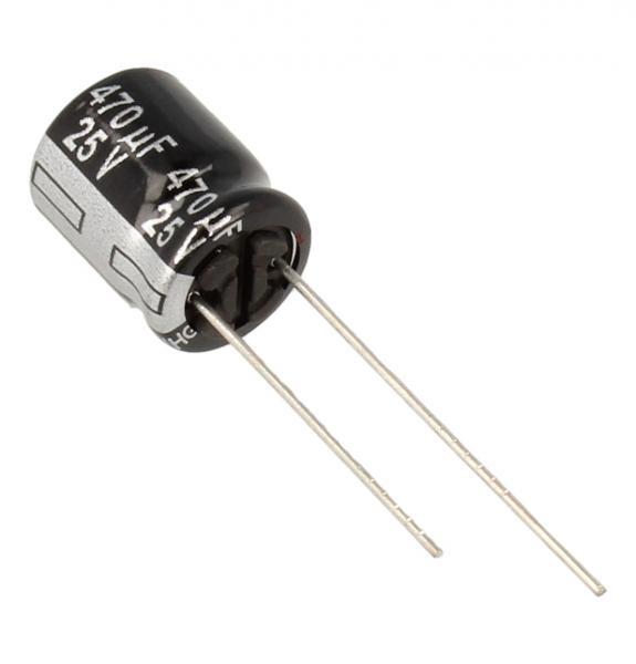 470uF | 25V Kondensator elektrolityczny 105C ECA1EHG471 12.5mm/10mm,0