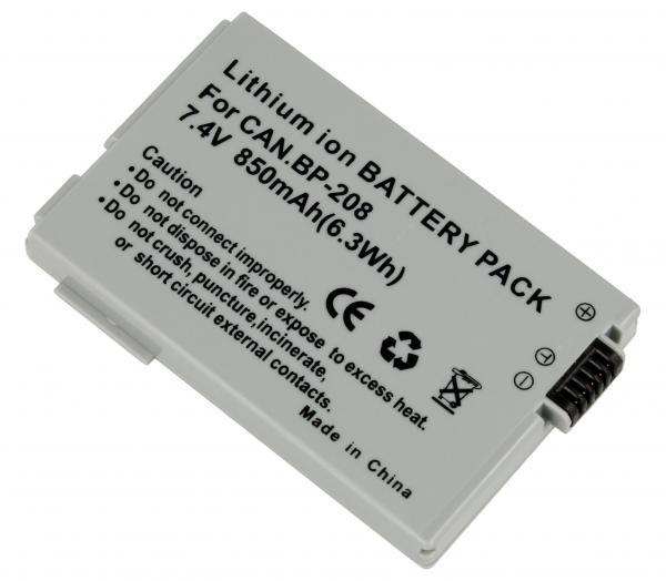 DIGCA74021 Bateria | Akumulator 7.4V 850mAh do kamery,0
