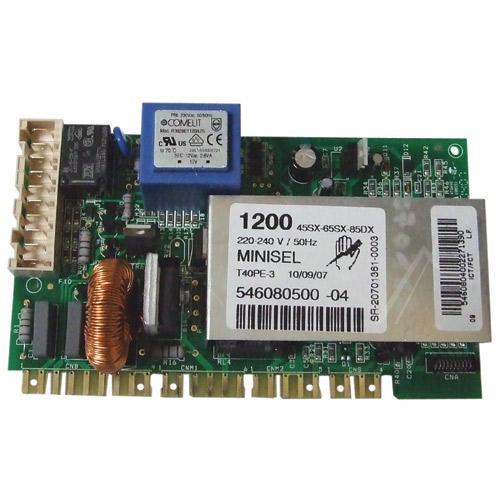 Moduł elektroniczny 651017909 skonfigurowany do pralki Ardo 546080500,0