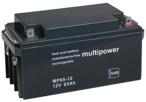MP6512 MP65-12 Akumulator UPS 12V 65000mAh Multipower (1szt.),0