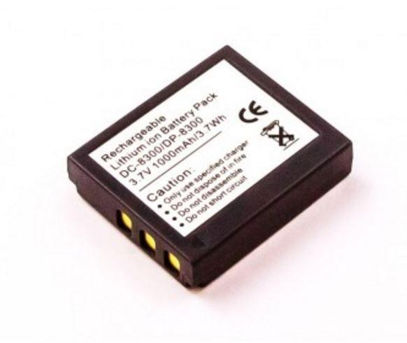 DIGCA37039 Bateria | Akumulator Li-Ion 3.7V 1000mAh DP8300 do kamery,0