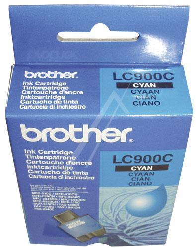 Tusz cyan do drukarki  LC900C,0