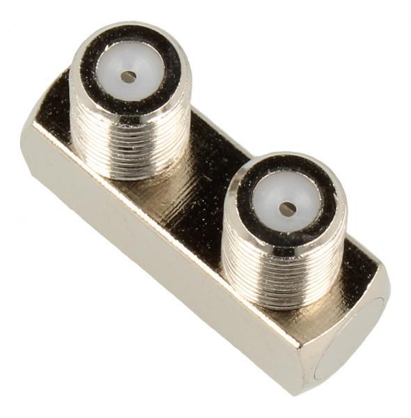 Adapter F antenowy (gniazdo/gniazdo) standard,0
