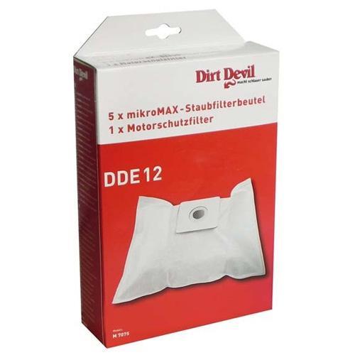 Worek do odkurzacza DDE12 Dirt Devil 5szt. (+filtr) 7075022,0