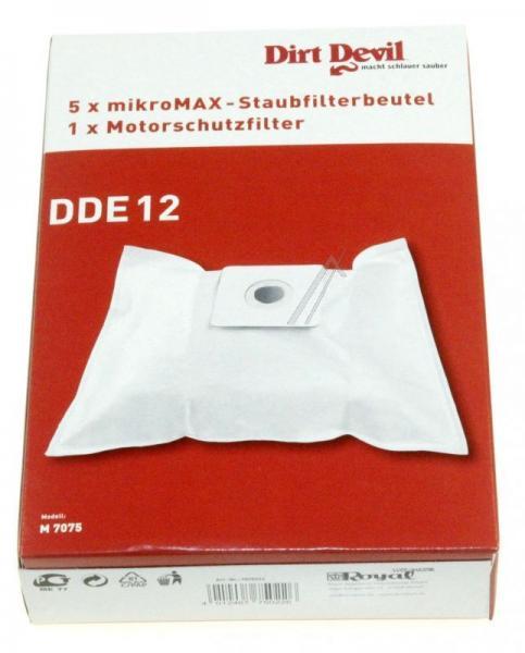 Worek do odkurzacza DDE12 Dirt Devil 5szt. (+filtr) 7075022,1