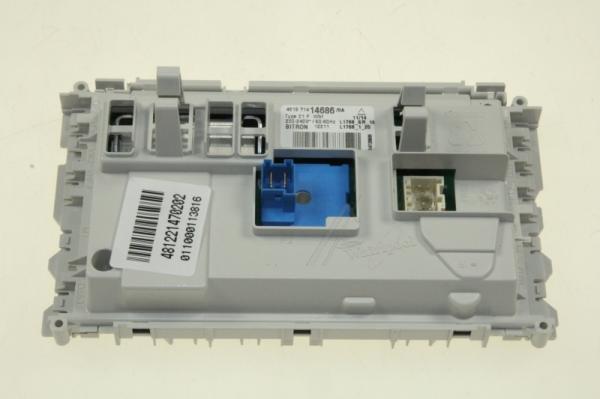 Moduł elektroniczny skonfigurowany do pralki 481221470202,0
