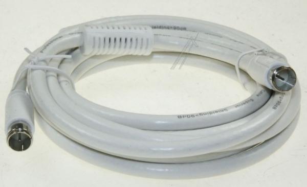Kabel antenowy Złącze F 3m FUBA (wtyk/wtyk),1