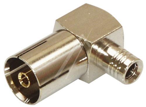 Adapter MCX - COAX (gniazdo/ gniazdo) standard,0